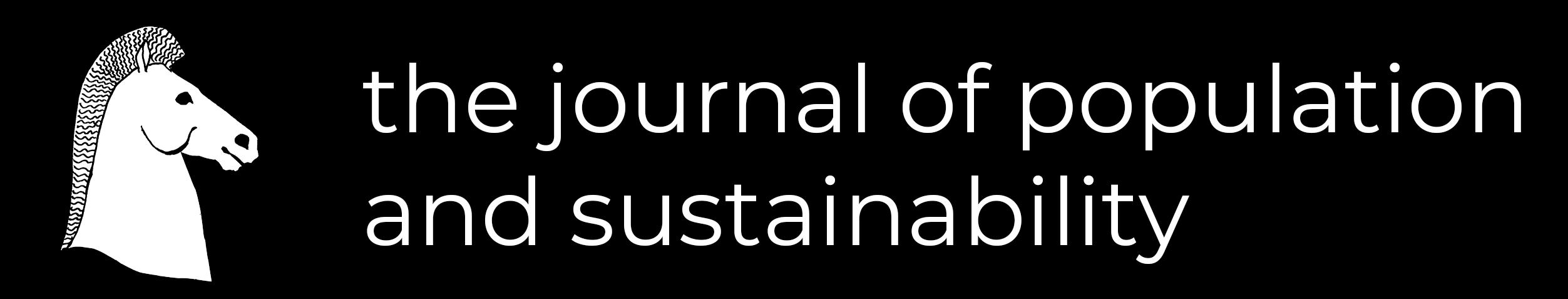 the journal of population and sustainability